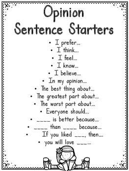 Opinion Writing Unit Writing Lessons Writing Units Opinion Writing Unit