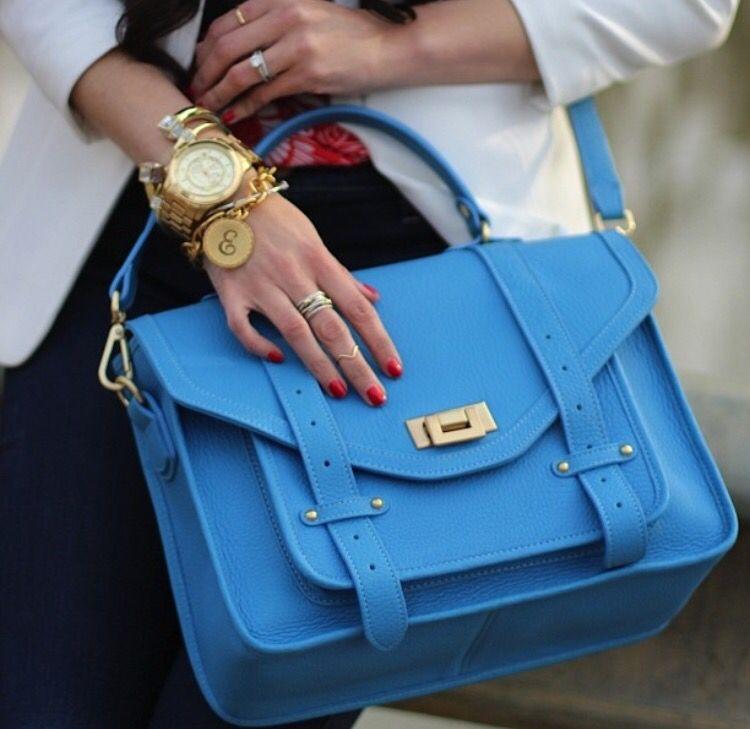 Blue galore