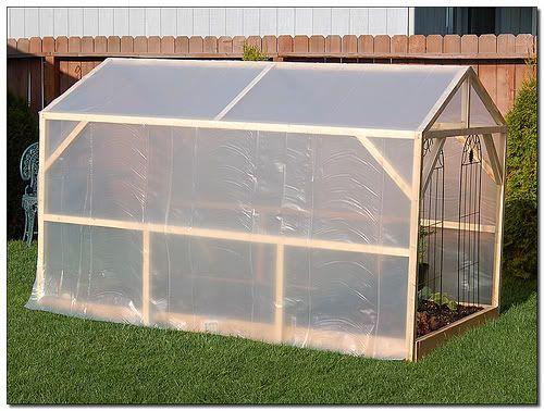 come costruire una piccola serra fai da te (realizzare per orto