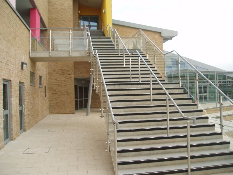 Prefabricated Steel Stairs #Steel