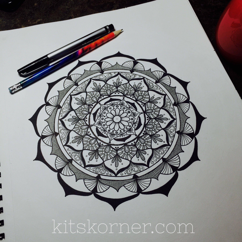 The Making Of A Mandala Sketch Book Mandala Geometric Tattoo