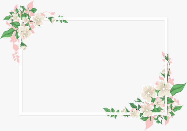 Pink Romantic Vine Png And Vector Flower Frame Floral Border Design Wedding Card Design