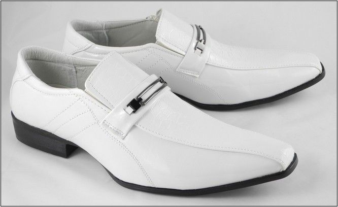 Fashion Styles Trends White Shoes Men Men S Wedding Shoes White Patent Leather Shoes