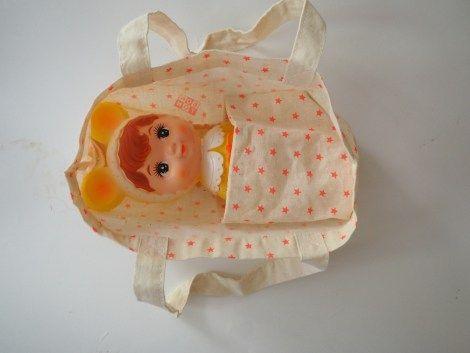 comment transformer un tote bag en couffin // We love Charli