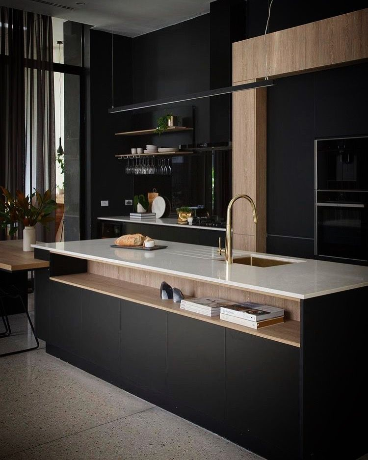 Minimalistic Modern Luxury Kitchen Island Design With: Pin By Ruba Atiyat On For The Home
