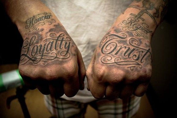 Lend A Hand With These Hand Tattoos Respect Tattoo Loyalty