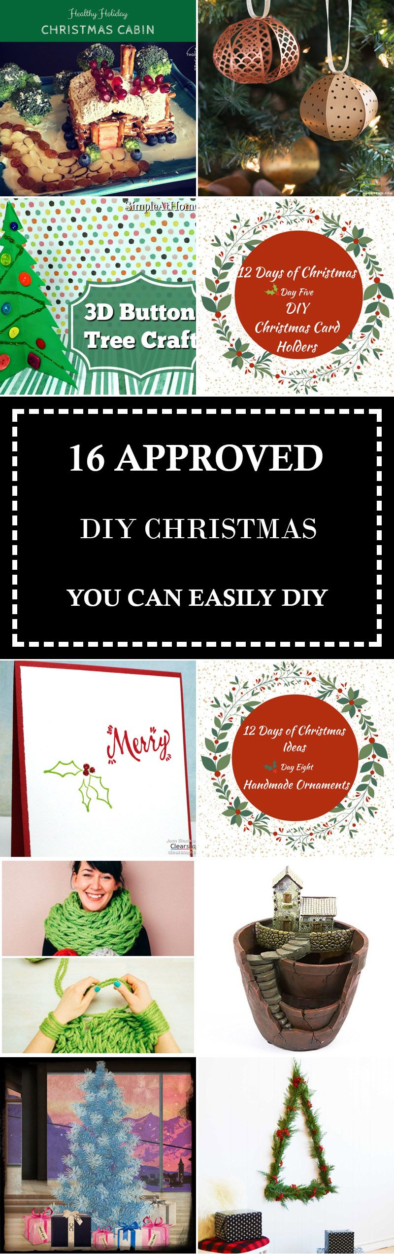 16 Approved Diy Christmas You Can Easily Diy