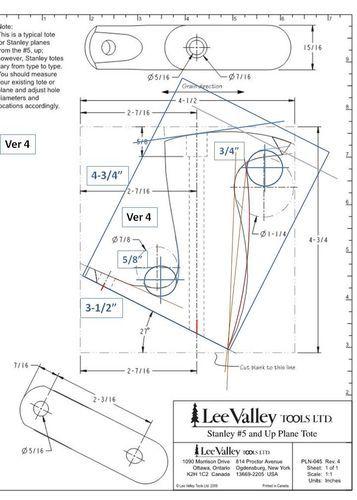 Handplanes 4 Custom Hand Plane Totes Stanley Lv Veritas