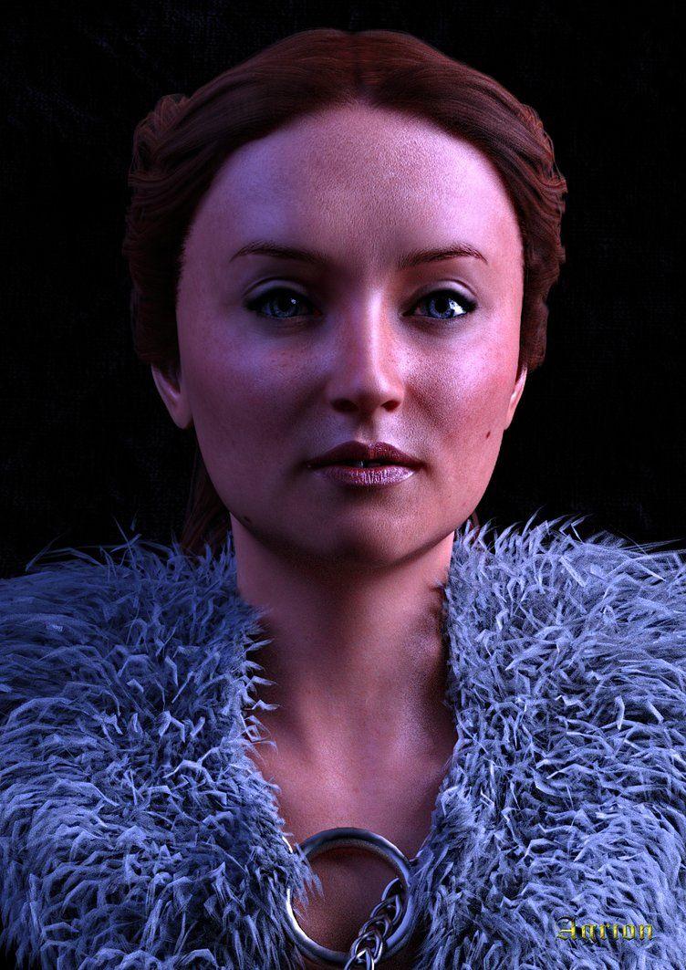 Sansa Stark morph for Genesis 8 Female - Daz Studio | ASOIAF