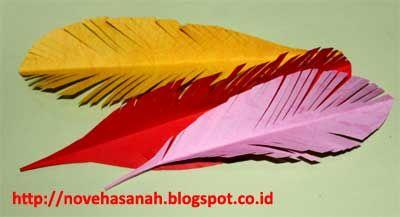 Cara Membuat Bulu Burung Imitasi Untuk Bahan Dekorasi Erina