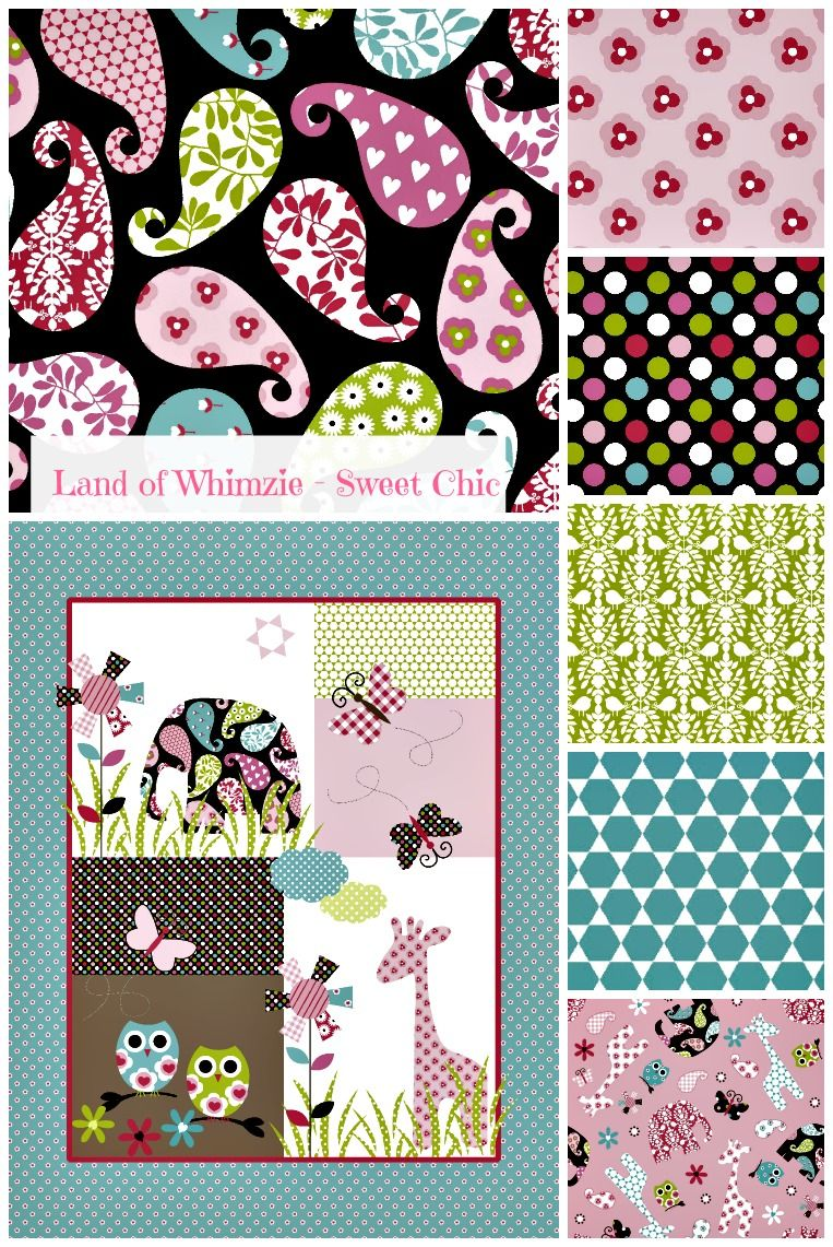 land of whimzie sweet chic collection now in joann fabric and