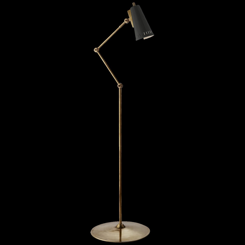 Antonio Articulating Floor Lamp Antique Brass Floor Lamp Floor Lamp Floor Lamp Makeover