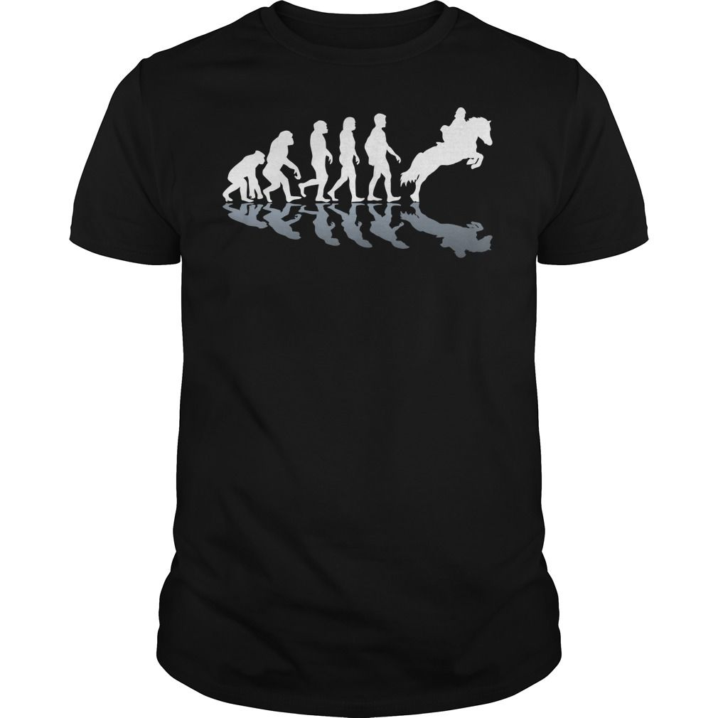Horse Riding Evolution ! T-Shirts, Hoodies, Sweaters