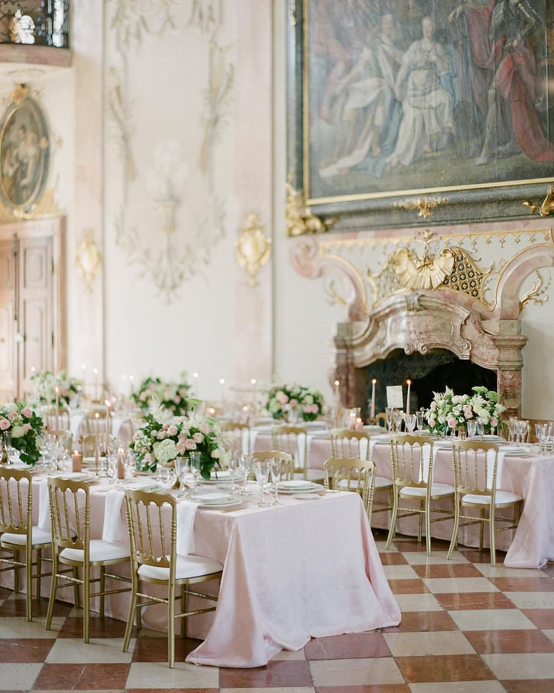Blush Destination Wedding In Salzburg As Seen On