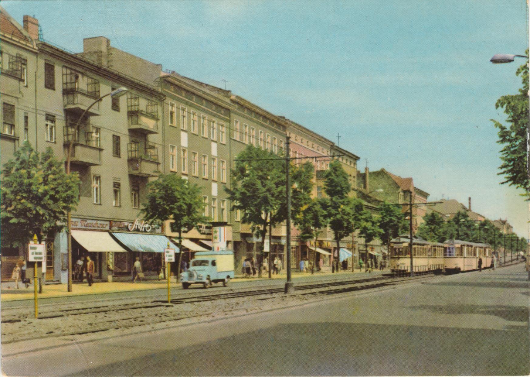 berlin klement gottwaldstrasse ddr ansichtskarten berlin ddr en weissensee. Black Bedroom Furniture Sets. Home Design Ideas