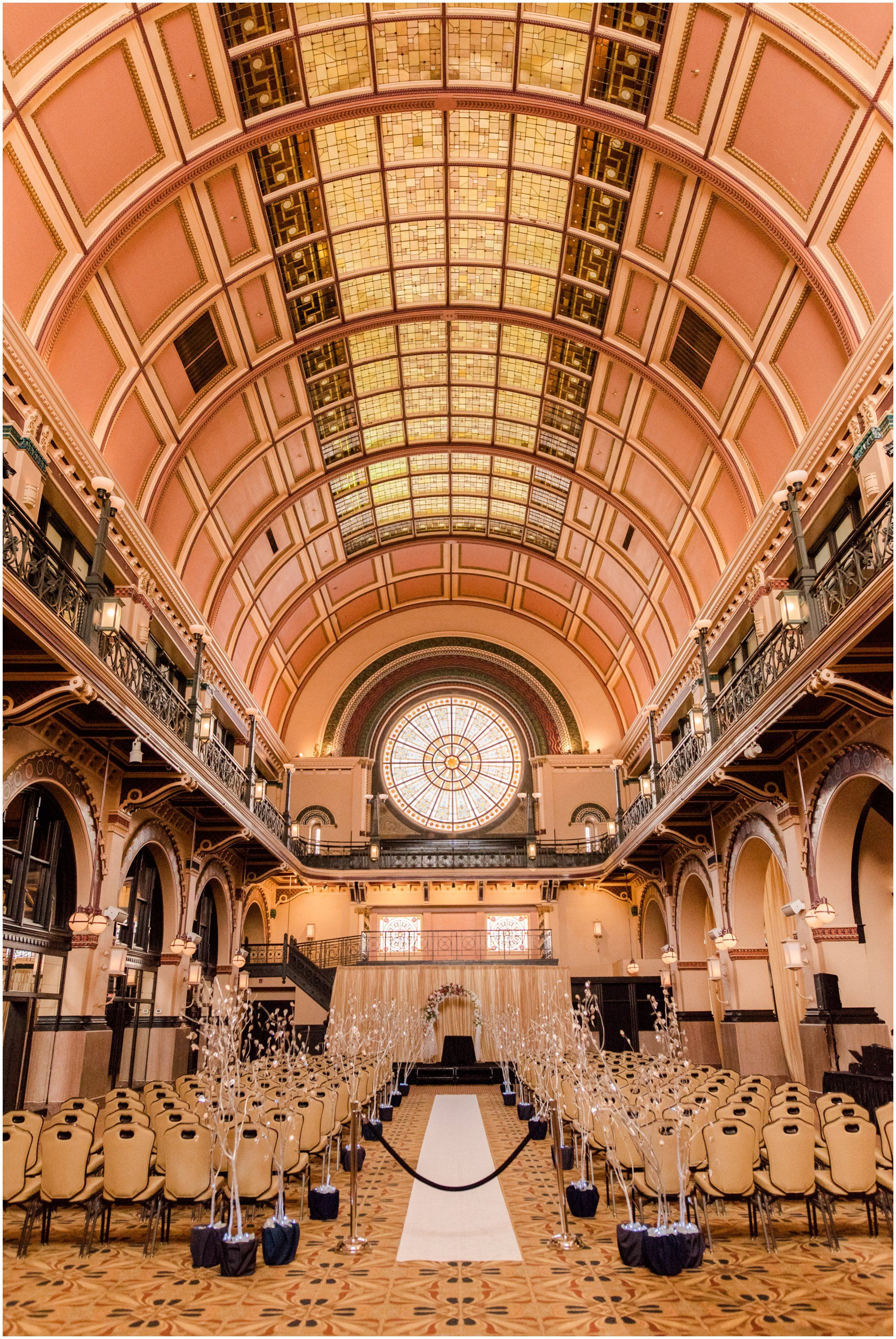 Crowne Plaza And Historic Union Station Wedding Indianapolis Indianapolisweddingvenue Downtown Venue