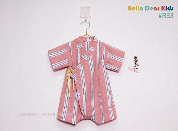 R33/ kids sewing pattern pdf Baby Kimono Romper Baby Onesie | kids ...