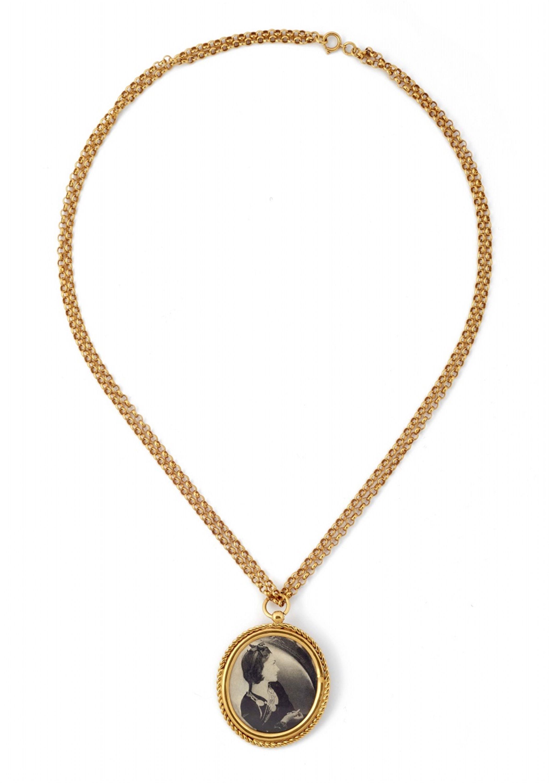 733b9d1d Chanel, A Chanel medallion de Coco collier, 1985, Auction ...