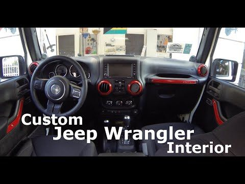 diy custom jeep wrangler interior part 2 youtube jk life o rh pinterest com