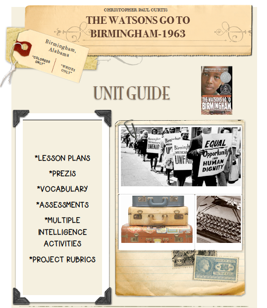 The Wastons Go To Birmingham-1963 Unit Guide