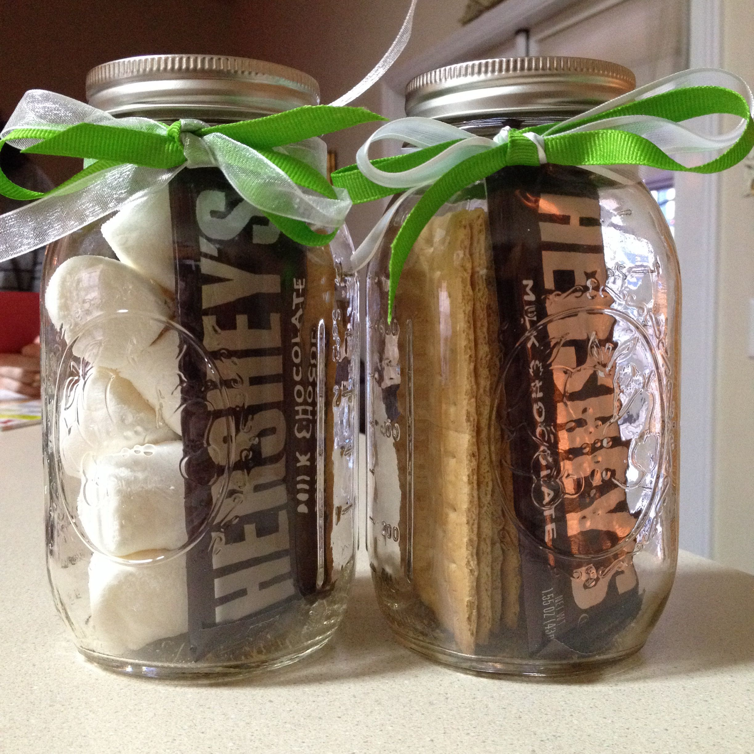 Diy Smores In A Jar  Gift For Friends