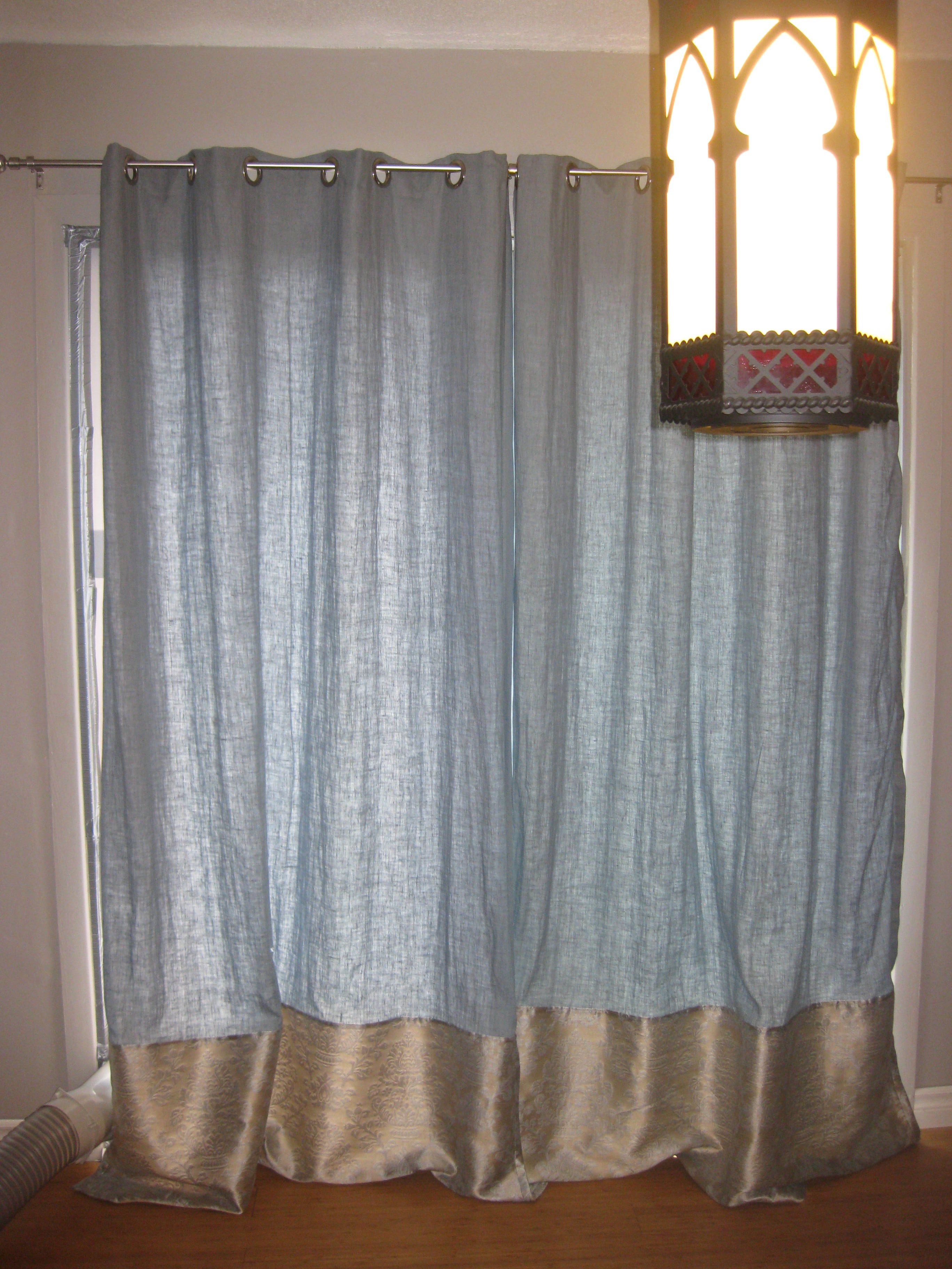 Blue curtains Things Iuve made Pinterest Curtains Blue and
