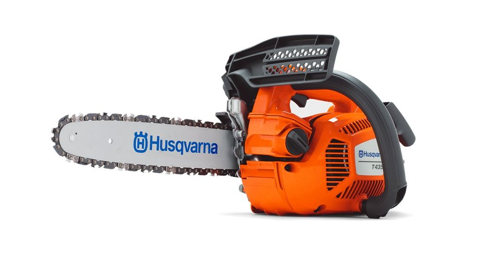 Husqvarna T435 Top Handle Saws With Images Chainsaw Top Handle Chainsaw Husqvarna