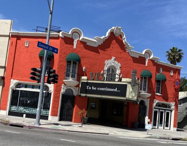 When the cinemas re-open in Los Angeles, we look forward to all of our amazing show palaces like the 1923 Vista Theatre in the Los Feliz section of our city. #glitteratitoursla #thelaca