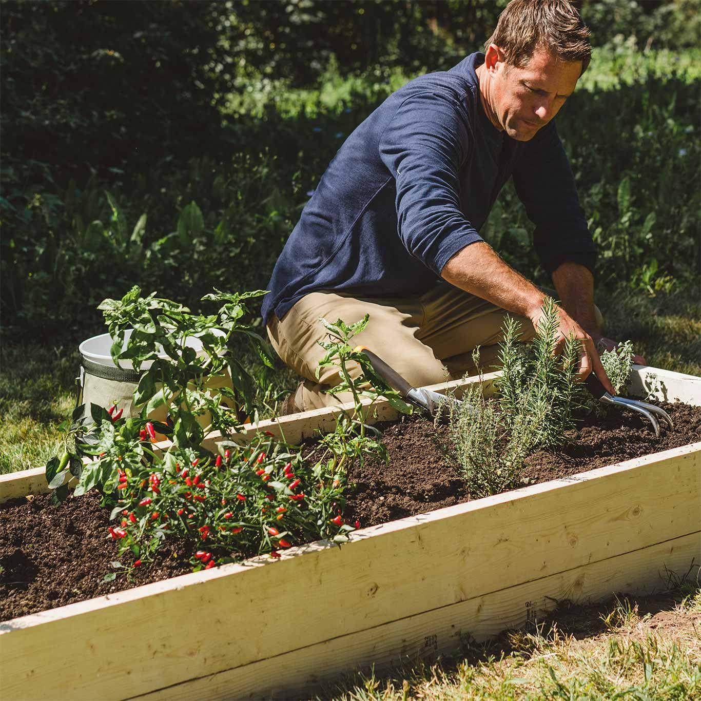 Raised Garden Bed Plans For Seniors Building raised