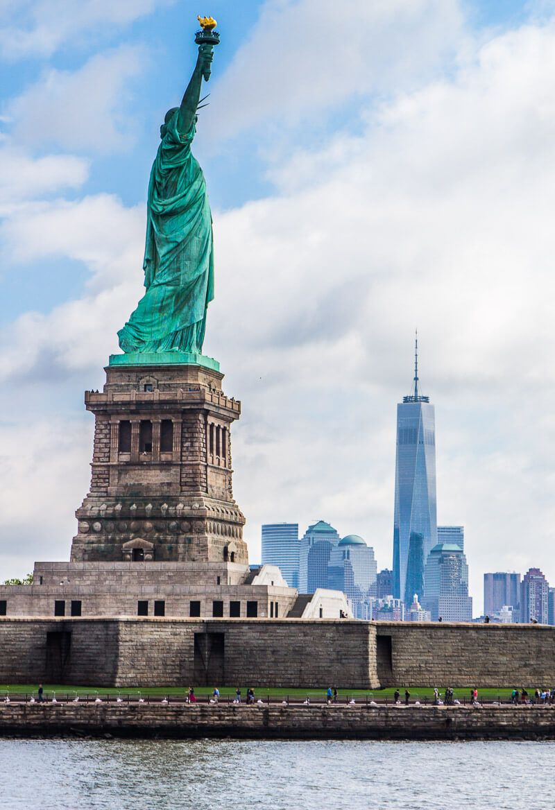 How To Visit Statue Of Liberty Reflecting On Freedom New York Attractions Statue Of Liberty Nyc Itinerary