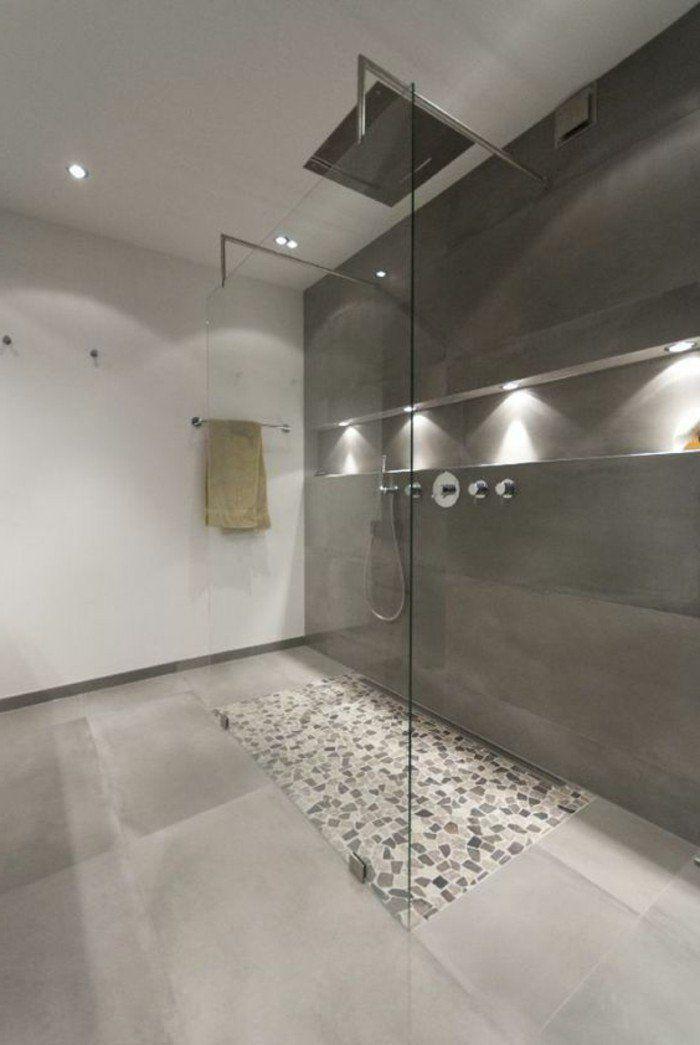 La salle de bain avec douche italienne 53 photos! SPA Pinterest
