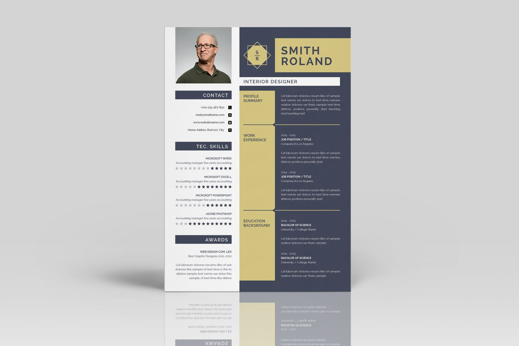 Roland Smith Resume Template Resume Template | Best Web ...