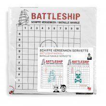 Papierservietten Battleship