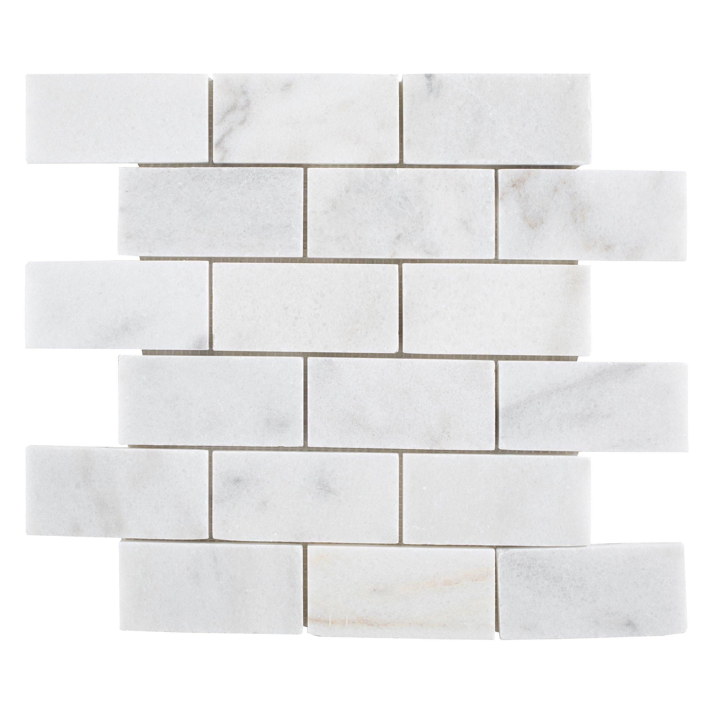 Regal White Honed Marble Mosaic Floor Decor In 2020 Honed Marble Marble Mosaic Honed Marble Tiles