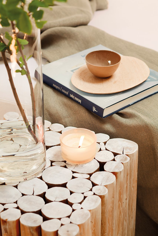 Love this end table... I could make that