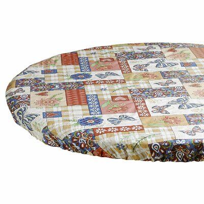 August Grove Corisande Patchwork Tablecloth Vinyl Table Covers Tablecloth Fabric Tablecloth Sizes