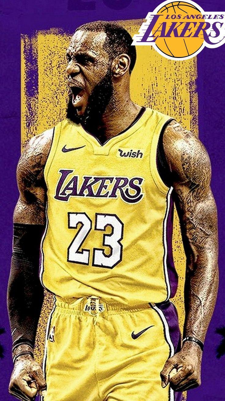 LeBron James Lakers iPhone Wallpapers (Görüntüler ile)