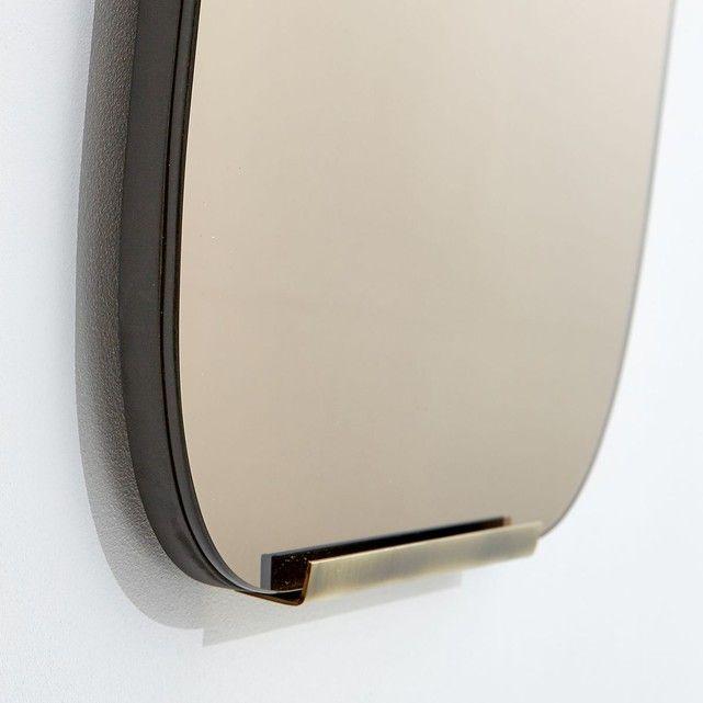 Miroir Fume Et Laiton H72 5cm Dialect Am Pm Miroir Fume Laiton Miroir Teinte