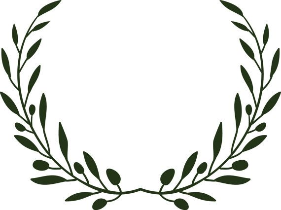 olive branch wreath svg file for cutting pinterest svg file rh pinterest com olive branch clip art free olive branch wreath clip art