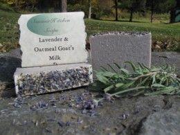 Lavender Oatmeal Goat S Milk Soap By Summer Kitchen Soaps