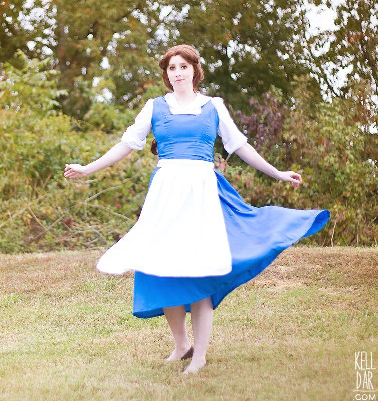 Belle's Blue Dress tutorial @ kelldar.com | Disney Costume ...