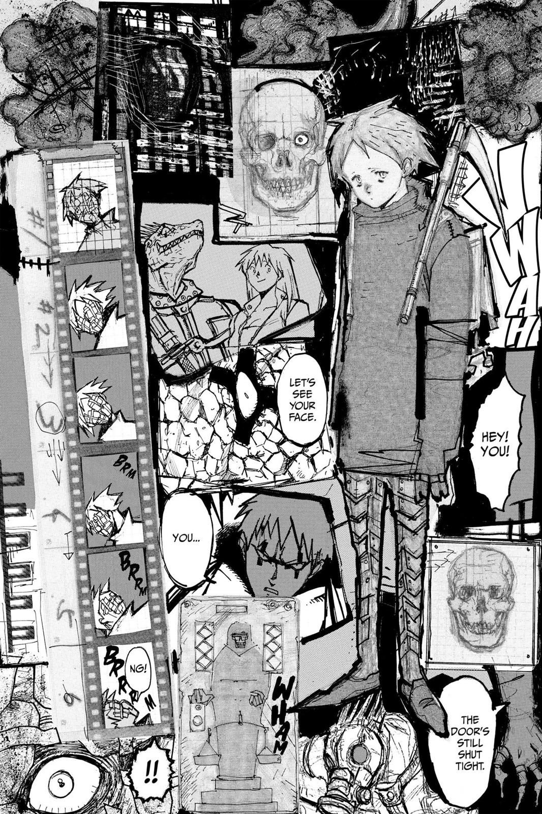 Dorohedoro Chapter 5 Page 5 漫画 コマ, イラスト, 設定画