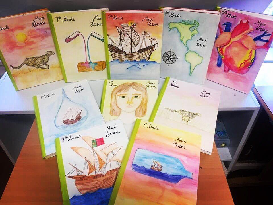 Gorgeous main lesson books from students at the Rudolf Steiner School of  NYC. | Steiner school, Waldorf teaching, Waldorf school