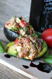 Photo of Healthy Tuna Stuffed Avocado