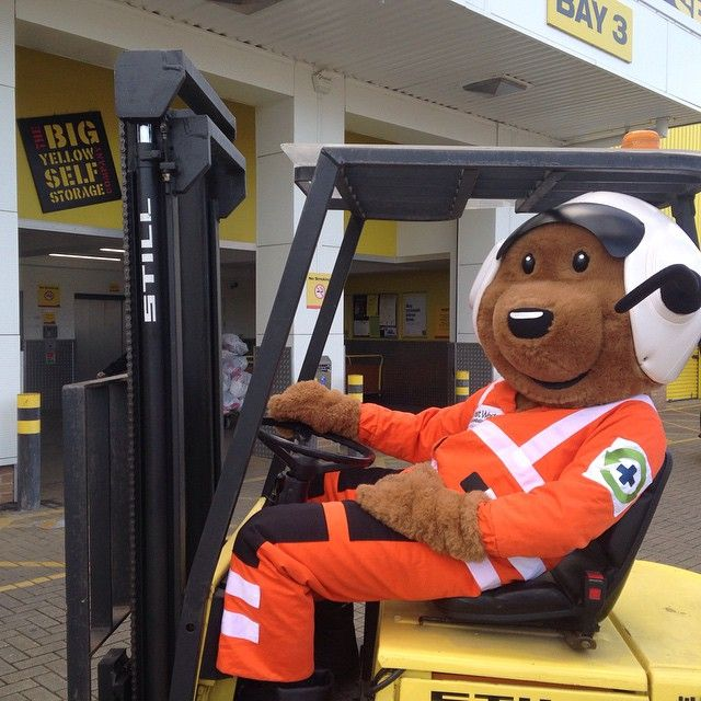 We got to get a mascot too #forklift