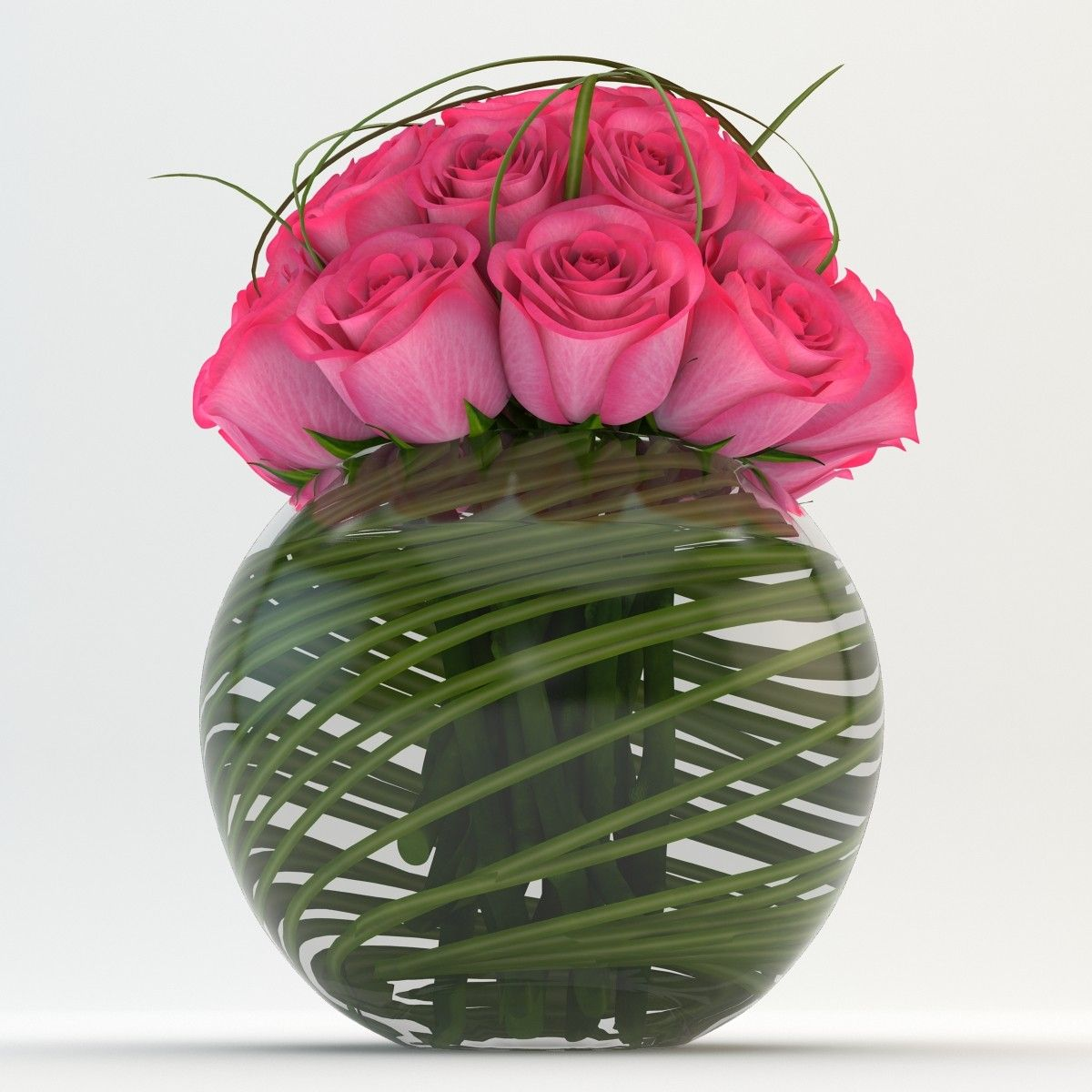 3d Model Bouquets Vase 03 Vase 3d Model Bouquet