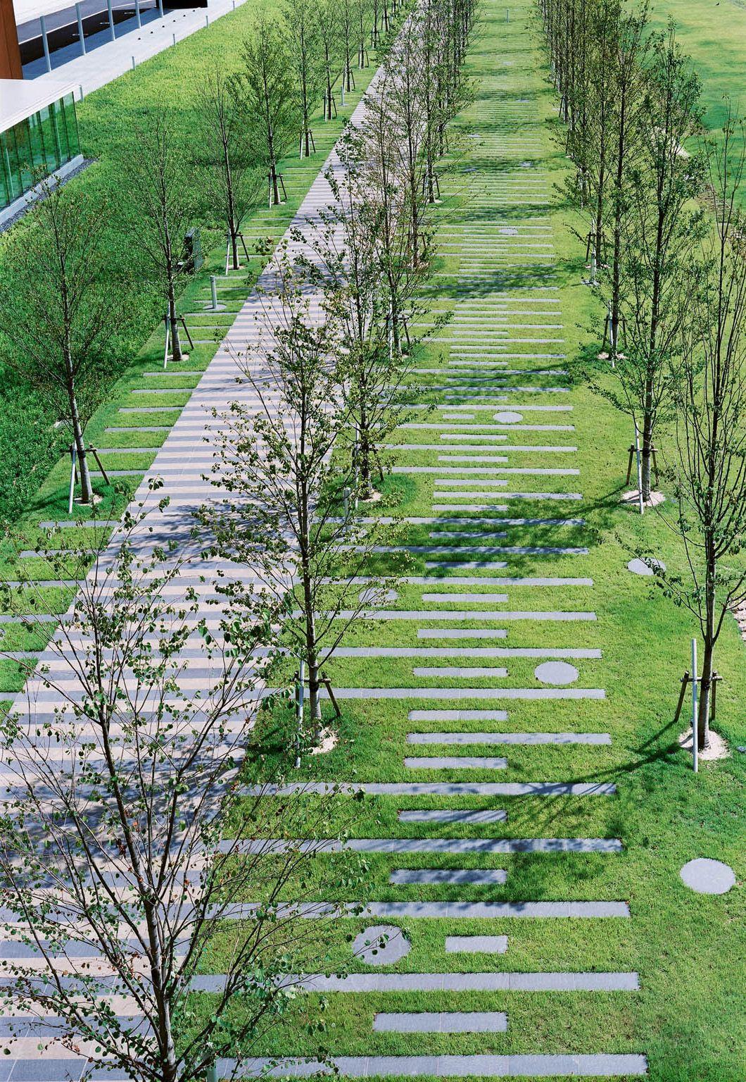 Landscape i architecture public spaces pinterest for Idee amenagement espace vert