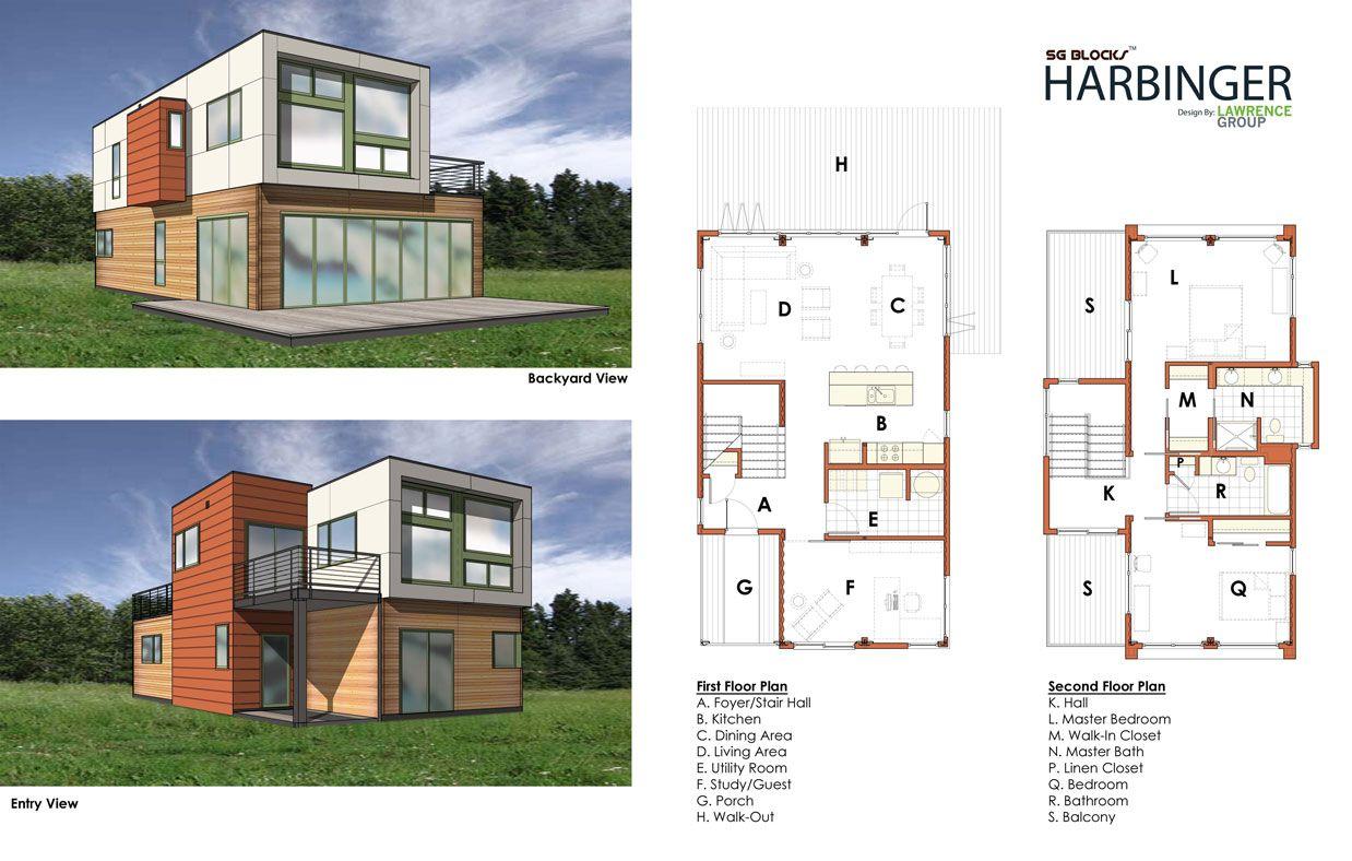 Image detail for -SG Blocks, Harbinger House, Designed by Lawrence Group -  Floorplan .
