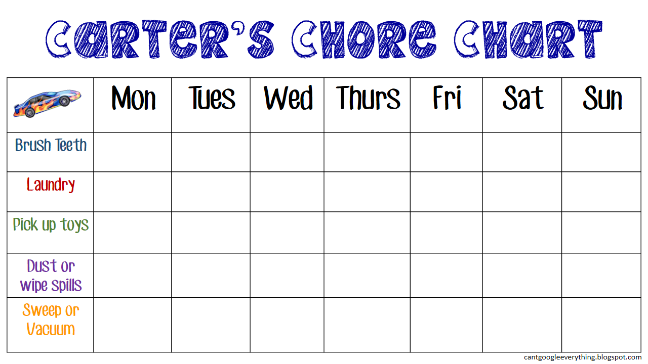 Toddler chore chart can t google everything toddlers chores