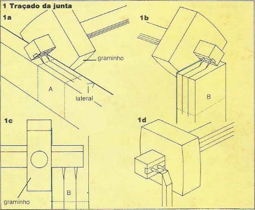 Marcenaria - Juntas de Respiga União Entre Duas Peças de Madeira - Curso de Marcenaria